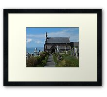 St Mary and St Bodfan Framed Print