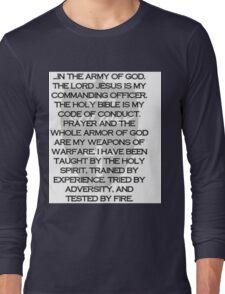 Army of God Long Sleeve T-Shirt