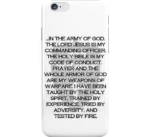 Army of God iPhone Case/Skin