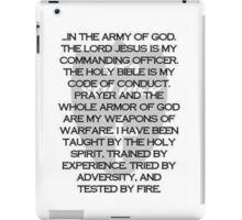 Army of God iPad Case/Skin