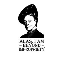 Alas, I am Beyond Impropriety by QueenOfRandom