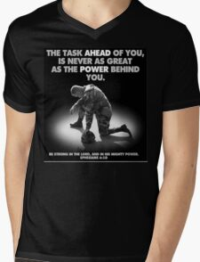 The Power Behind You Mens V-Neck T-Shirt