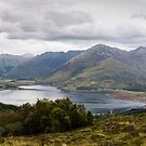 Five Sisters of Kintail - Panorama by David Lewins