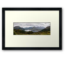 Five Sisters of Kintail - Panorama Framed Print