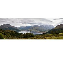 Five Sisters of Kintail - Panorama Photographic Print