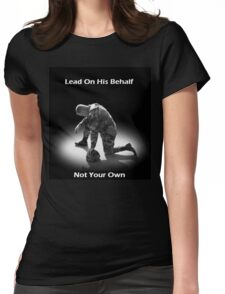 Lead For His Name Sake Womens Fitted T-Shirt