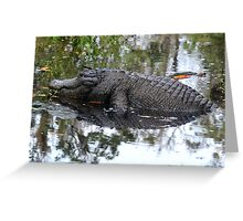 roll me over Greeting Card
