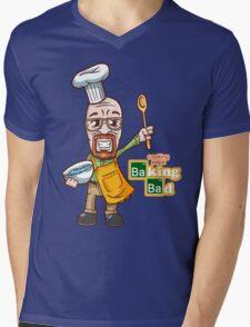 Cooking Papa - Baking Bad Mens V-Neck T-Shirt