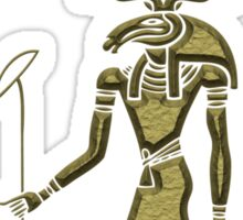 Khensu - God of ancient Egypt Sticker