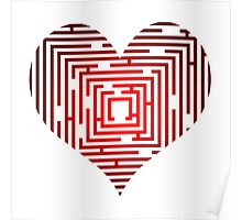 maze in the heart Poster