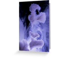 Surface flower on water 1 Greeting Card