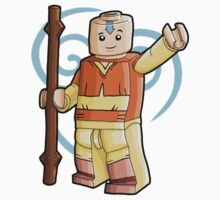 Lego Aang by lewisblytheart