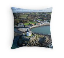 Fort Grey, Guernsey Throw Pillow