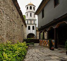 Of Courtyards and Belfries  by Georgia Mizuleva