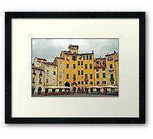 Lucca - Amfiteatro Framed Print