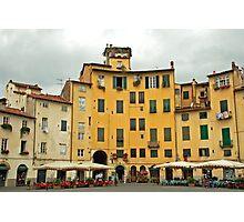 Lucca - Amfiteatro Photographic Print