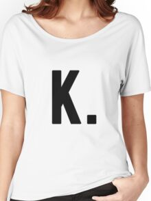 The Almighty K Dot Women's Relaxed Fit T-Shirt