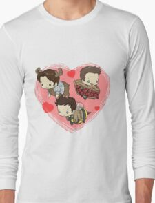 SuperNatural Chibi Long Sleeve T-Shirt