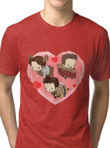 SuperNatural Chibi Tri-blend T-Shirt