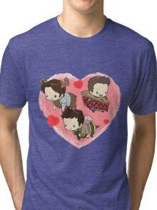 SuperNatural Chibi Tri-blend T-Shirt
