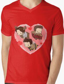 SuperNatural Chibi Mens V-Neck T-Shirt