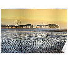 Central Pier, Blackpool Poster