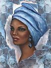 Regal Lady in Blue by Alga Washington