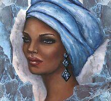 Regal Lady in Blue by Alga Washington