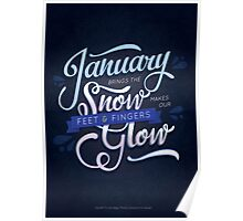 Typography Poem Poster
