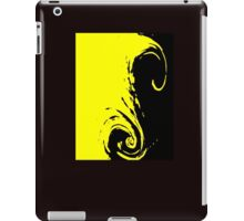Yellow Abstract iPad Case/Skin
