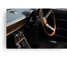Alfa Romeo Giulia Sprint Interior Canvas Print
