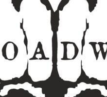 Broadway! Sticker