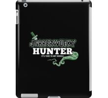 Jabberwocky Hunter iPad Case/Skin