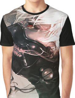 Kaneki Ken Tokyo Ghoul mask Graphic T-Shirt