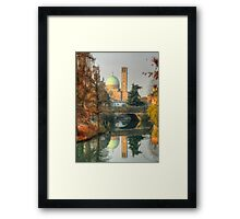 Double Autumnal Landscape from Padua Framed Print