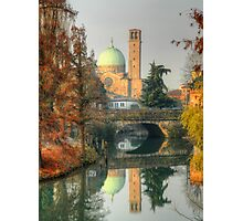 Double Autumnal Landscape from Padua Photographic Print