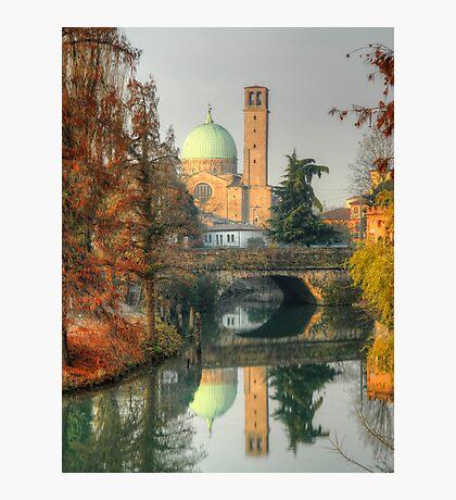 Double Autumnal Landscape from Padua Photographic Print
