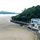On the beach of Portmeirion (Wales) by Arie Koene