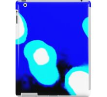 Blue White Abstract iPad Case/Skin