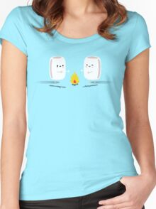 Marshmallows Women's Fitted Scoop T-Shirt