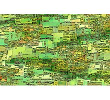 Green City on a Hill Photographic Print