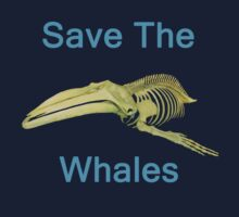 Save The Whales, T Shirts & Hoodies. ipad & iphone cases by Eric Kempson