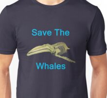 Save The Whales, T Shirts & Hoodies. ipad & iphone cases Unisex T-Shirt