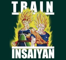 Train insaiyan - Bardock and Goku by Ali Gokalp