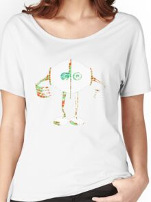 Boon - Multicolor - Robot Women's Relaxed Fit T-Shirt