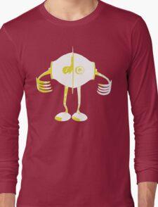 Boon Yellow Robot Long Sleeve T-Shirt