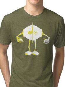 Boon Yellow Robot Tri-blend T-Shirt