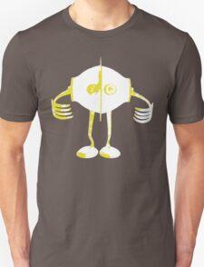 Boon Yellow Robot Unisex T-Shirt