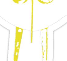 Boon Yellow Robot Sticker