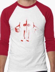 Boon - Red - Robot Men's Baseball ¾ T-Shirt